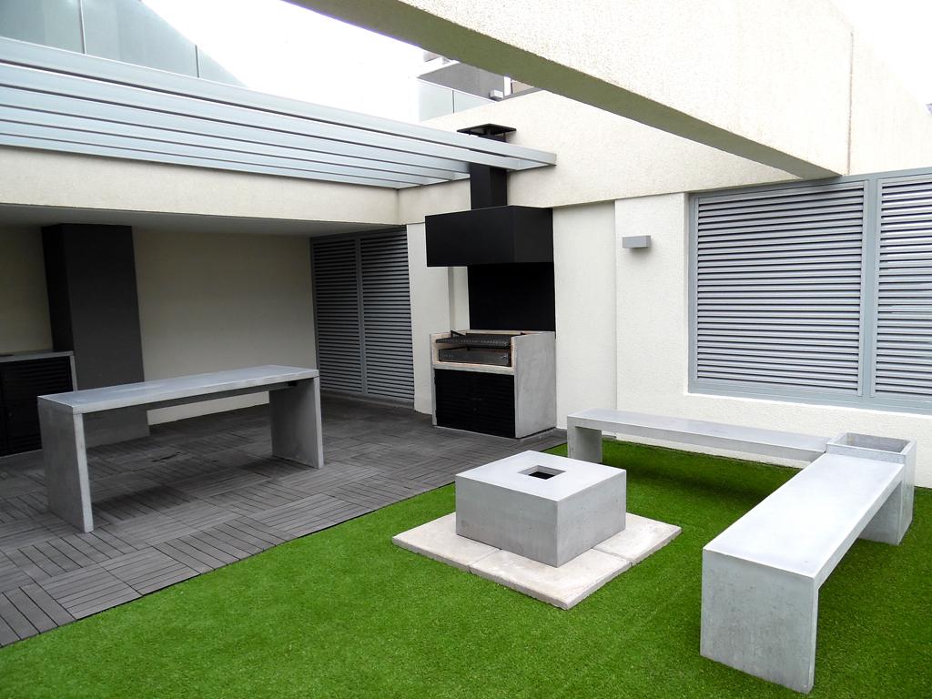 terraza privada - RCUBO