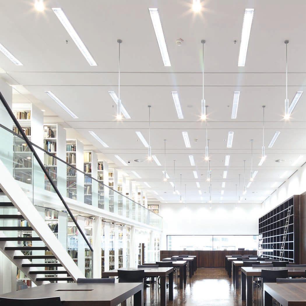 Lux sugeridos para bibliotecas