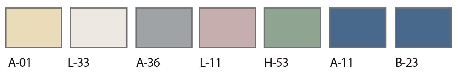 carta colores puertas sysprotec