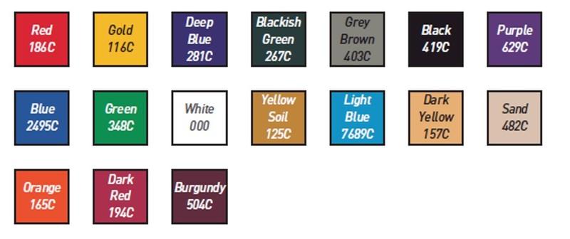 carta colores asientos dep sysprotec