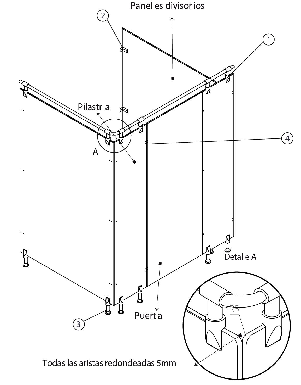 esquema 2 panel fenolico sysprotec