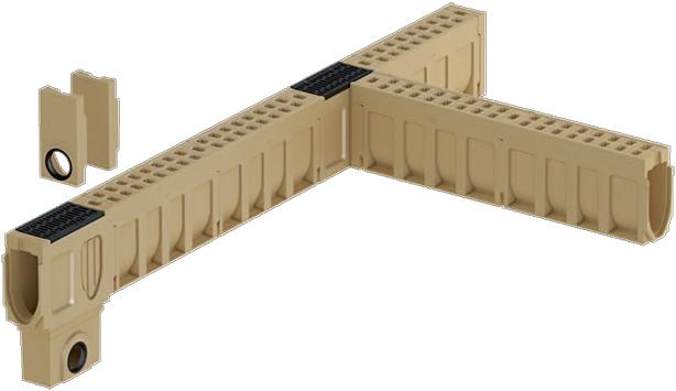 ACO Monoblock® Canaleta y rejilla monolítica en concreto polimérico19