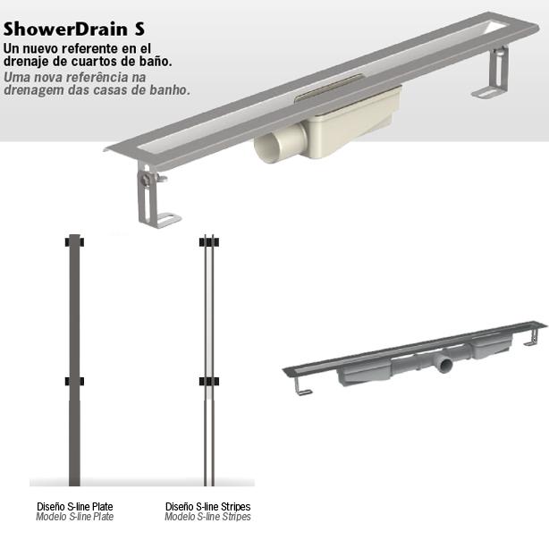 ACO ShowerDrain Canales de ducha