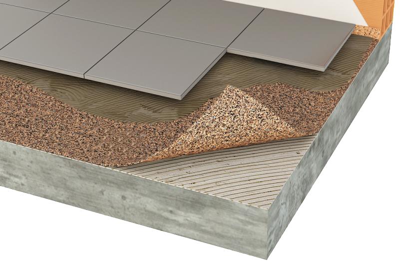Aislante Acústico para pisos Acousticork T66