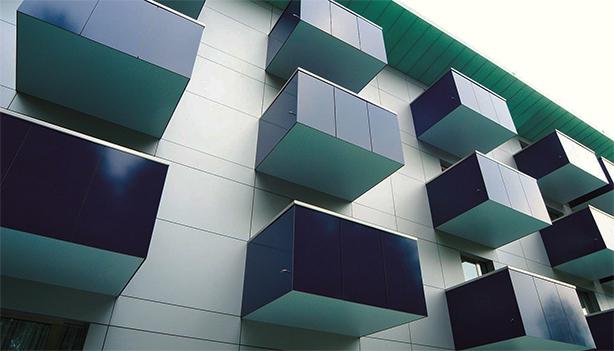 Balcones - Trespa® Meteon® Placas seguras y atractivas