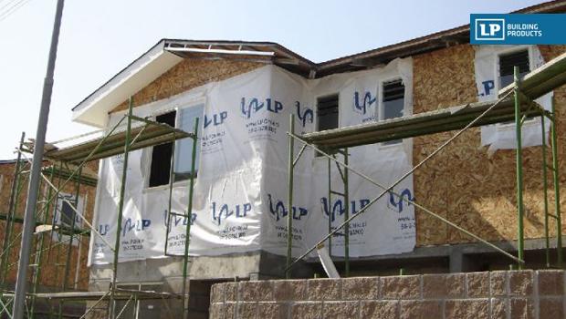 Barrera Hidrófuga LP HouseWrap