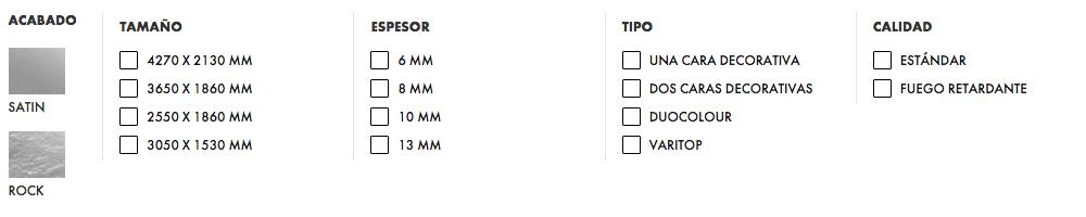 Trespa - Unicolor