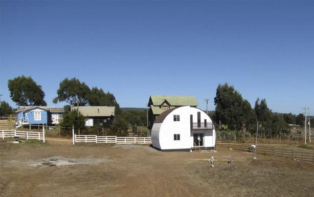 Casa Pichilemu con Onduline Classic