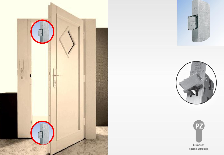 Cerradura Multipunto para Puertas de Acceso