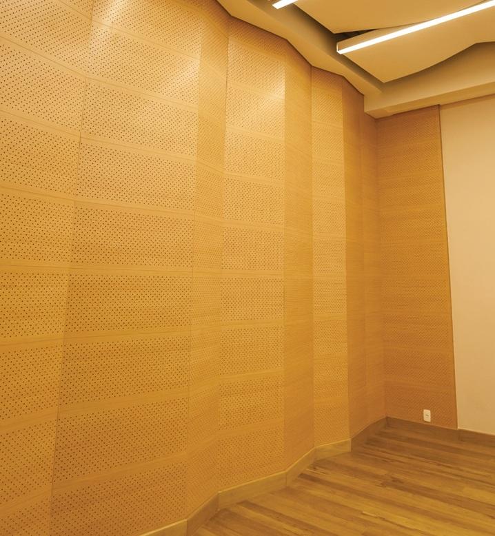 Cielo y revestimiento de madera Nexacustic