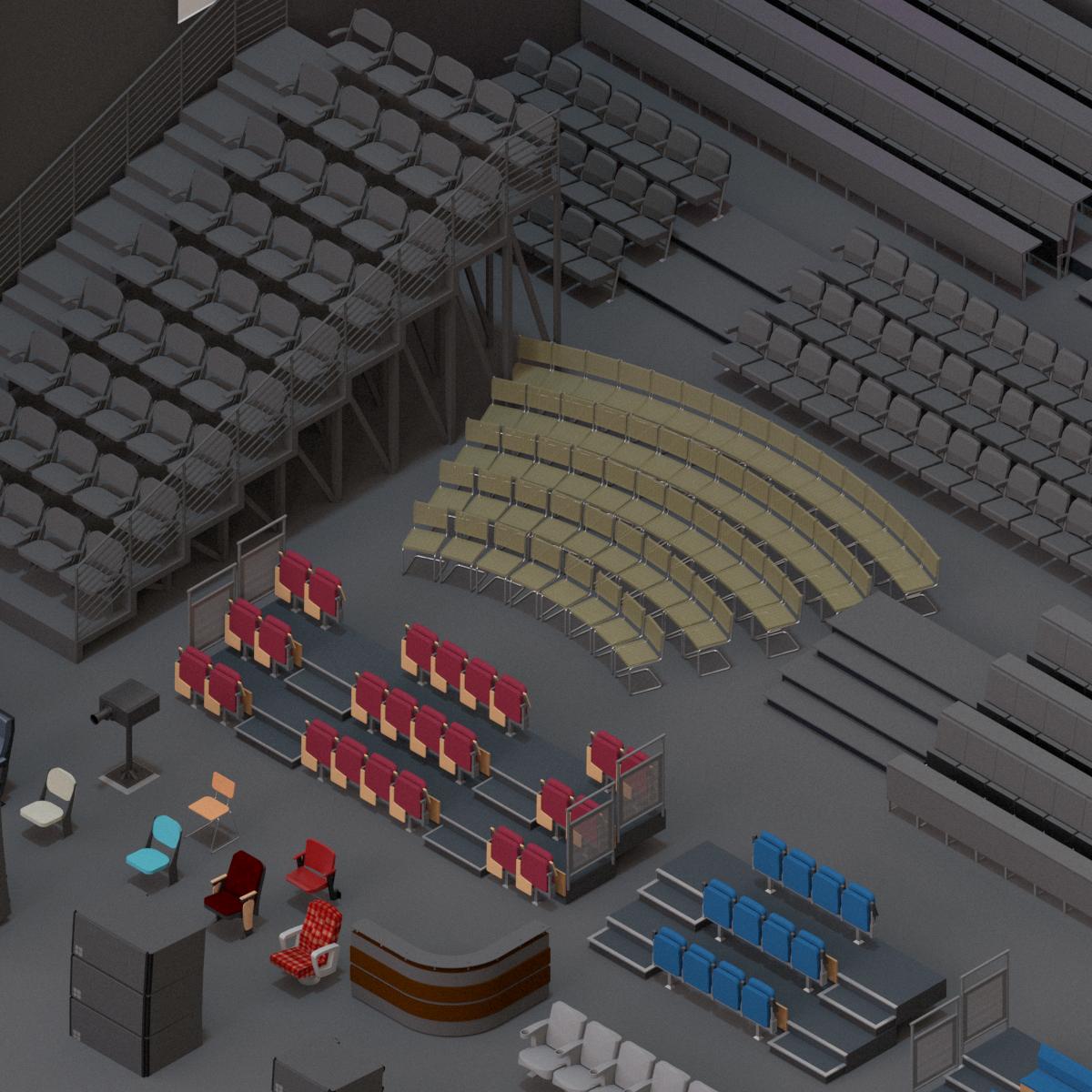 Colección de Teatro y Cine en BIM