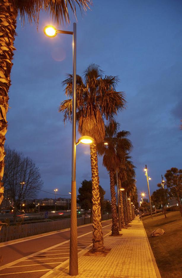 Columnas para luminarias SALVI