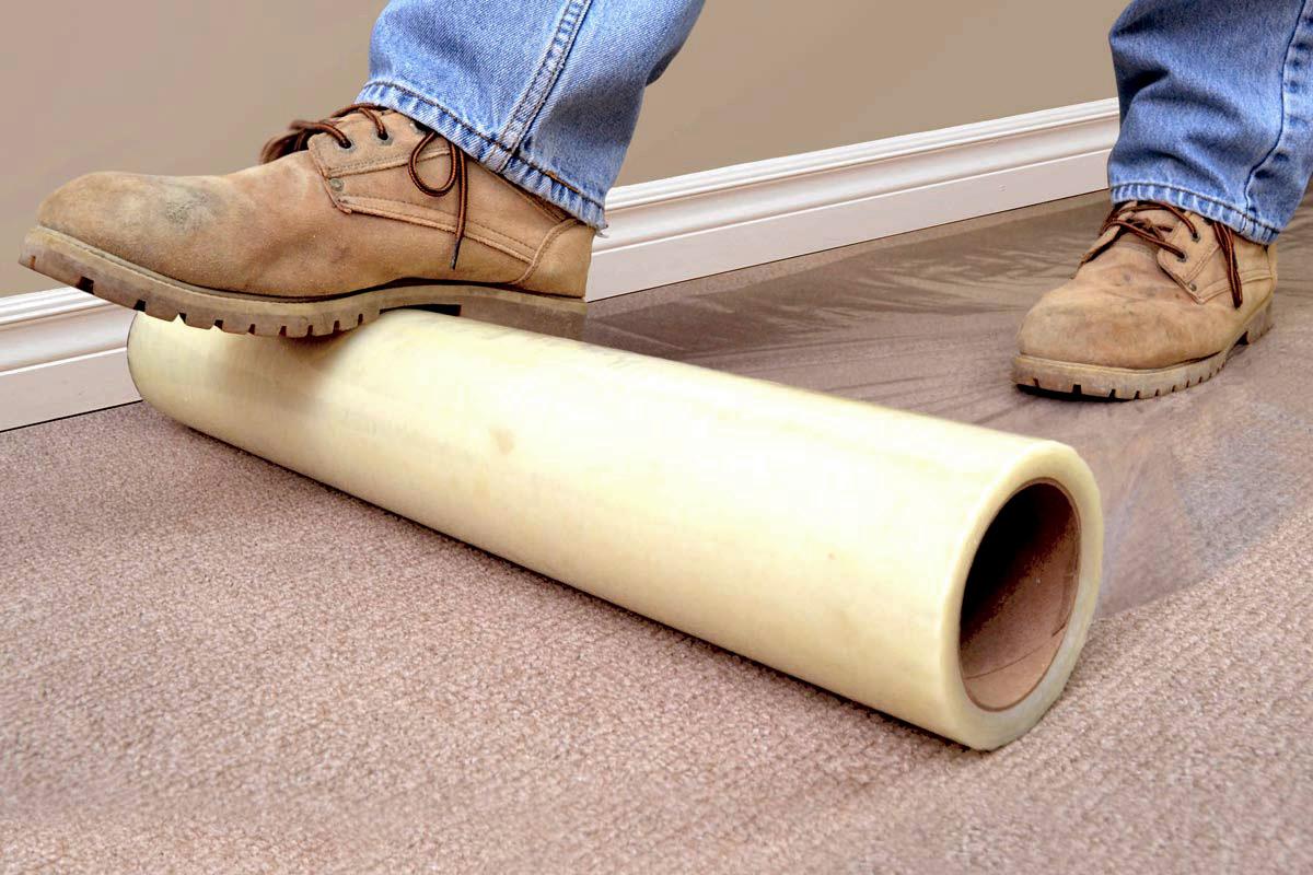 CoverFilm Protector Adhesivo para pisos, alfombras, vidrios y aluminios - RyR