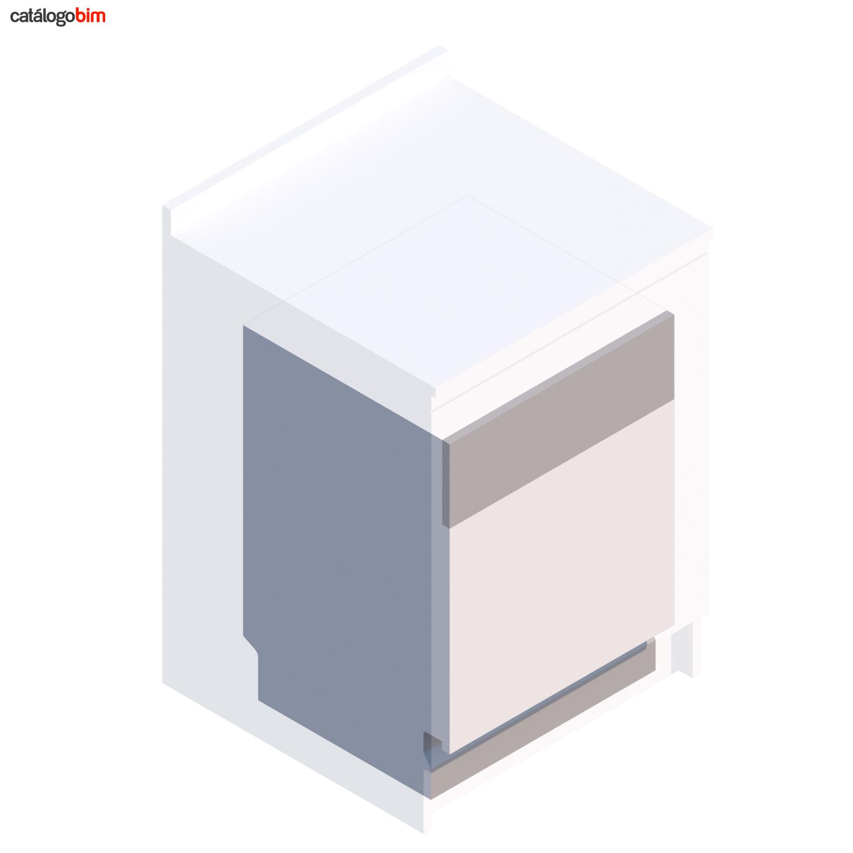 Descarga modelo de Lavavajillas Integrable para mueble de cocina de Teka Modelo DW9 70 Fi en BIM, puedes encontrar modelos 3D y familias de lavavajillas de Teka parametrizables, con texturas realistas, y conexiones eléctricas. Descarga gratis la familia de lavavajillas integrable para mueble de cocina de Teka Modelo DW9 70 Fi para su uso BIM, descargas en formatos Revit, rfa y rvt, e IFC y librerías de materiales, pronto descargas para ArchiCAD.