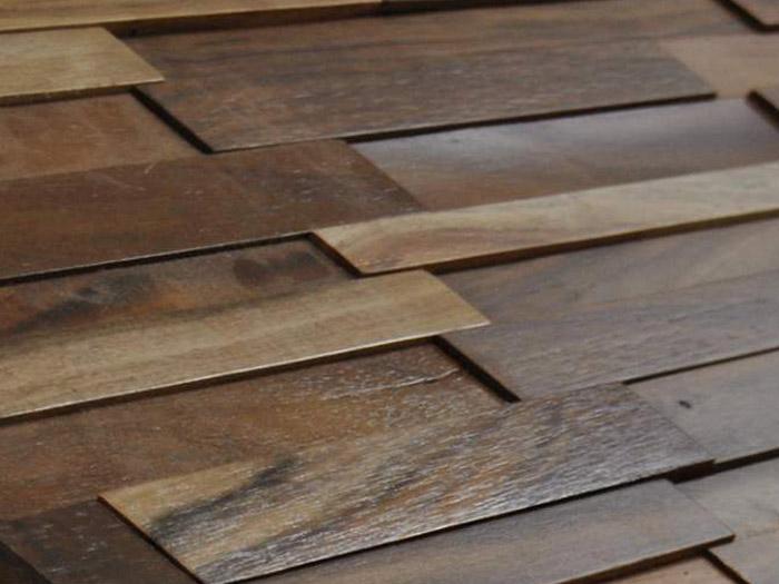 Revestimiento madera color acacia