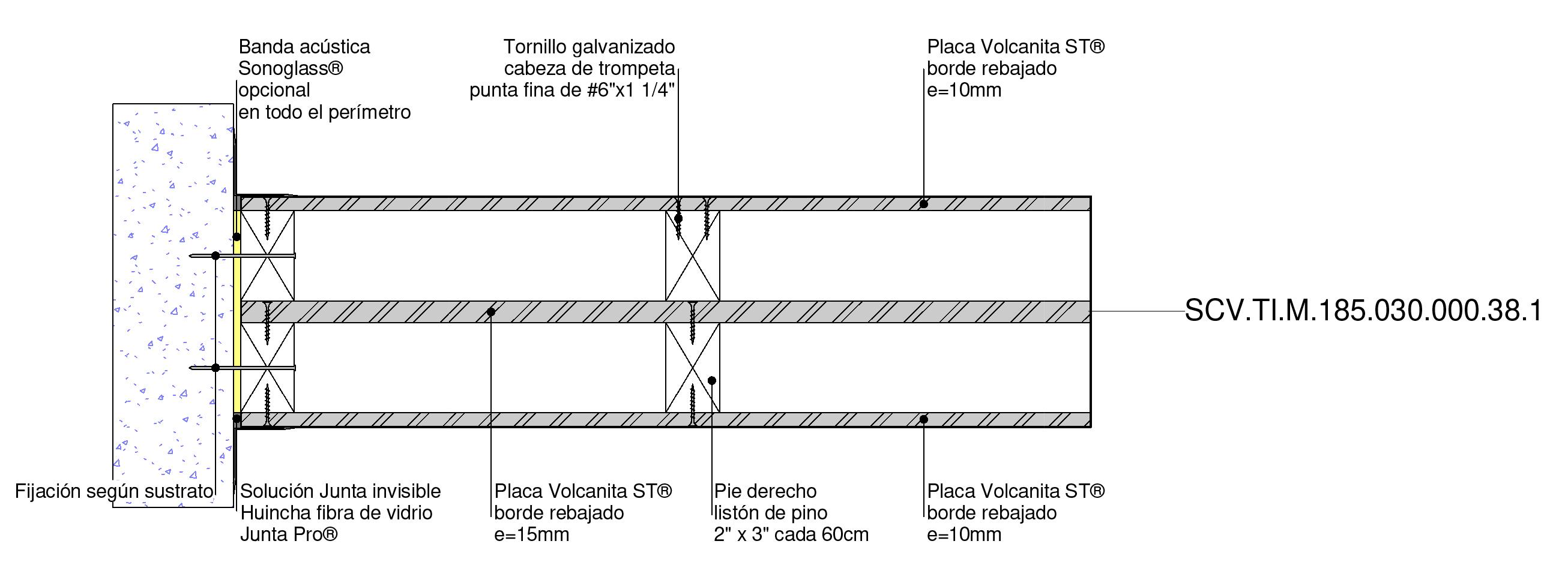 Tabique estructural F-30 de Volcan en BIM. Solución en rvt, ifc, dwg, para revit, BIM, de Volcan
