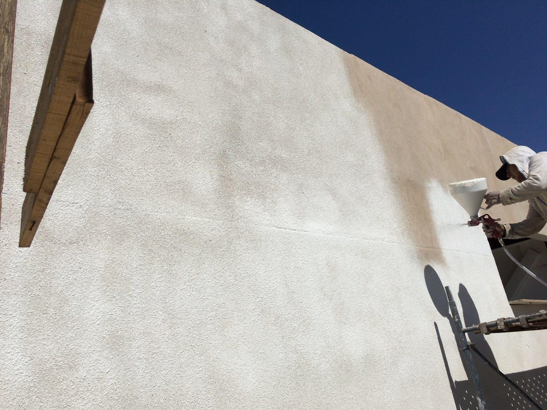 Ecorkterm Proyectado Pintura texturada térmica