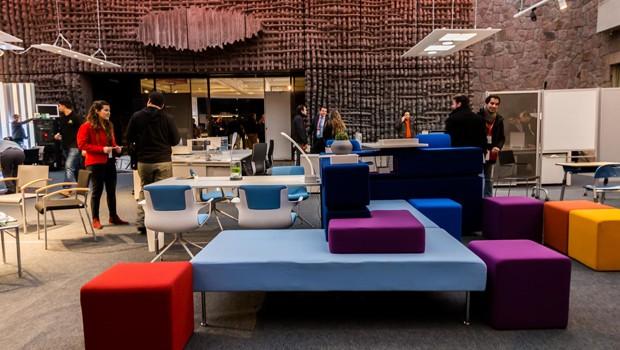 En 100Showrooms 2014 Diseño y color para oficinas