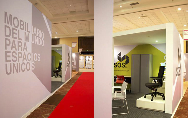 En 100 Showrooms 2015 Diseño y color para oficinas