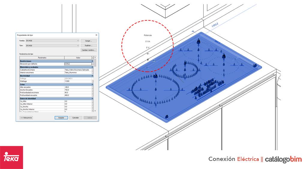 Descarga modelo de encimera por inducción empotrable de Teka Modelo TB 5303 en BIM, puedes encontrar modelos 3D y familias de encimera por inducción empotrable de Teka parametrizables, con texturas realistas. Descarga gratis la familia de encimera por inducción empotrable de Teka Modelo TB 5303 de Teka para su uso BIM, descargas en formatos Revit, rfa y rvt, e IFC y librerías de materiales, pronto descargas para ArchiCAD.