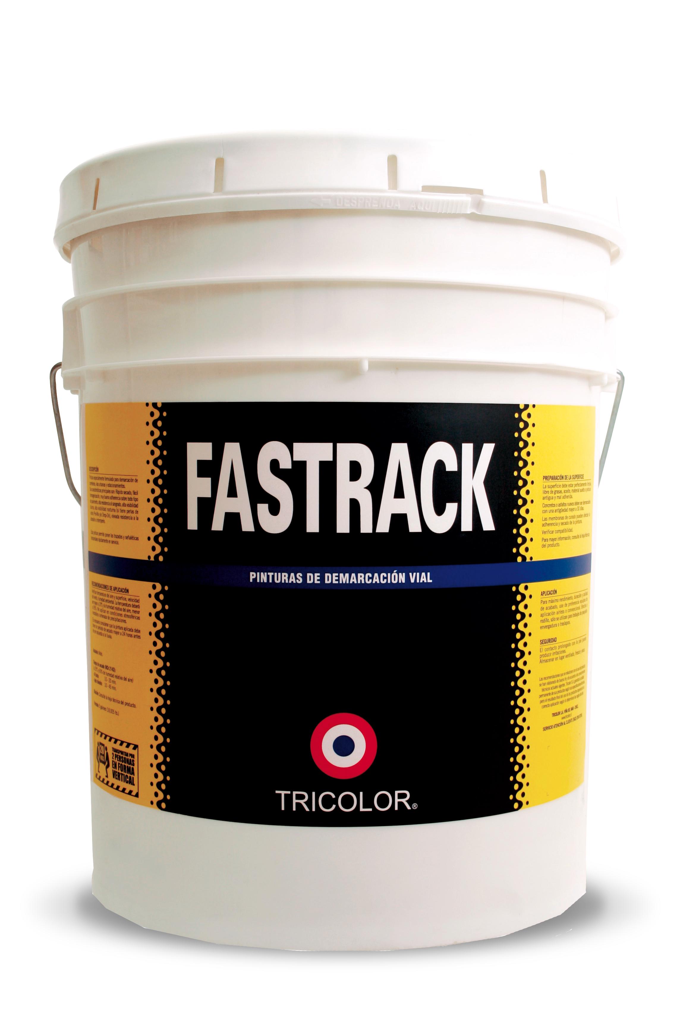 Fastrack acrilica contrastante