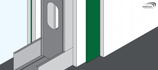 Fonac Barrier Aislante Acústico para Tabiques