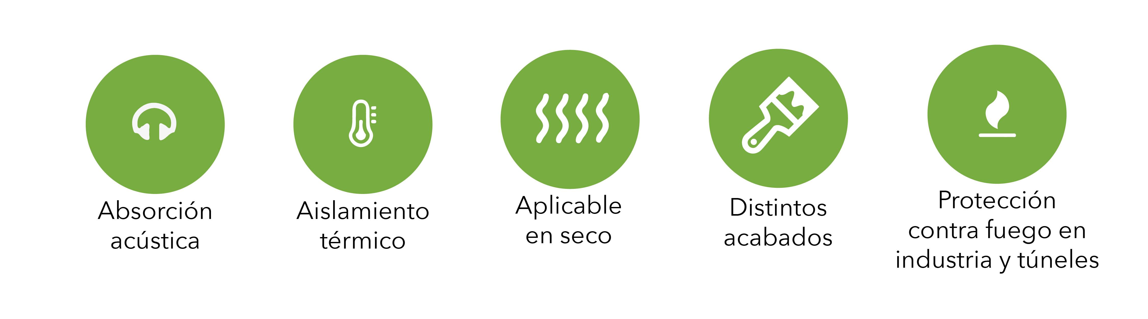 iconos ventajas panel proteccion tuneles synixtor