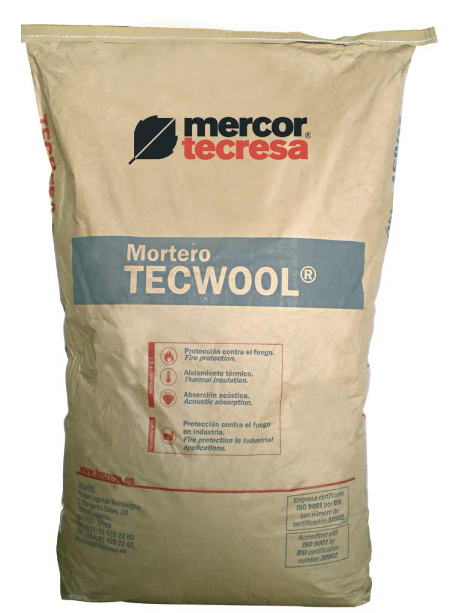 Tecwool® F mortero ignífugo - Synixtor