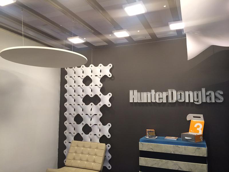 Iluminación LED Interior en Hunter Douglas
