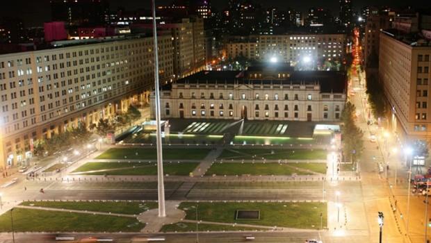 Iluminación LED en Barrio Cívico de Santiago
