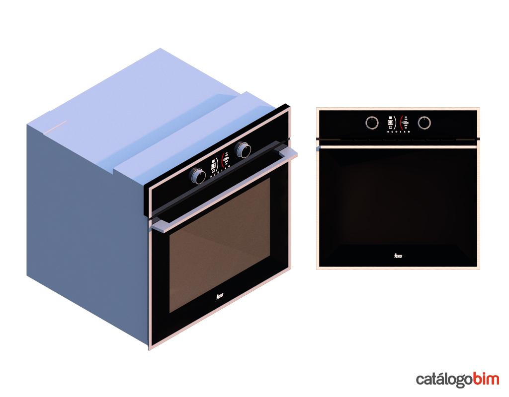 Descarga modelo de Horno eléctrico de Teka Modelo HLB 860 SS en BIM, puedes encontrar en catálogo modelos 3D y familias de hornos de cocina eléctricos Teka. Descarga gratis familias de Hornos de Teka para su uso BIM, descargas en formatos Revit, rfa y rvt, e IFC y librerías de materiales, pronto descargas para ArchiCAD.
