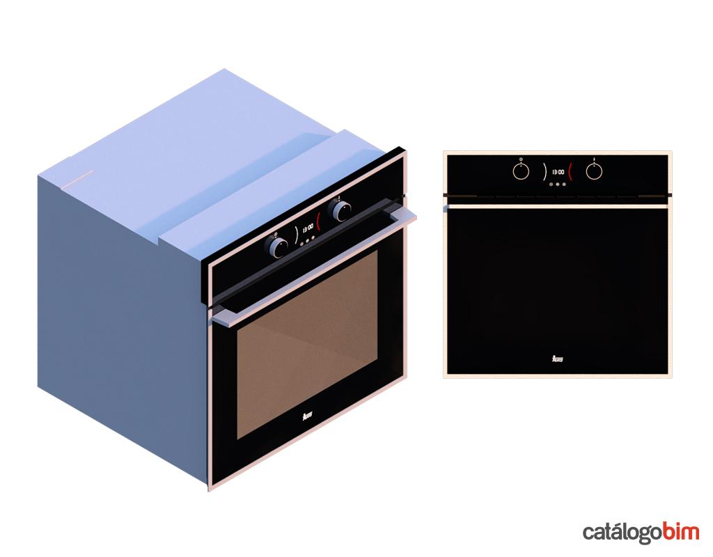 Descarga modelo de Horno eléctrico de Teka Modelo HLB 840 SS en BIM, puedes encontrar en catálogo modelos 3D y familias de hornos de cocina eléctricos Teka. Descarga gratis familias de Hornos de Teka para su uso BIM, descargas en formatos Revit, rfa y rvt, e IFC y librerías de materiales, pronto descargas para ArchiCAD.
