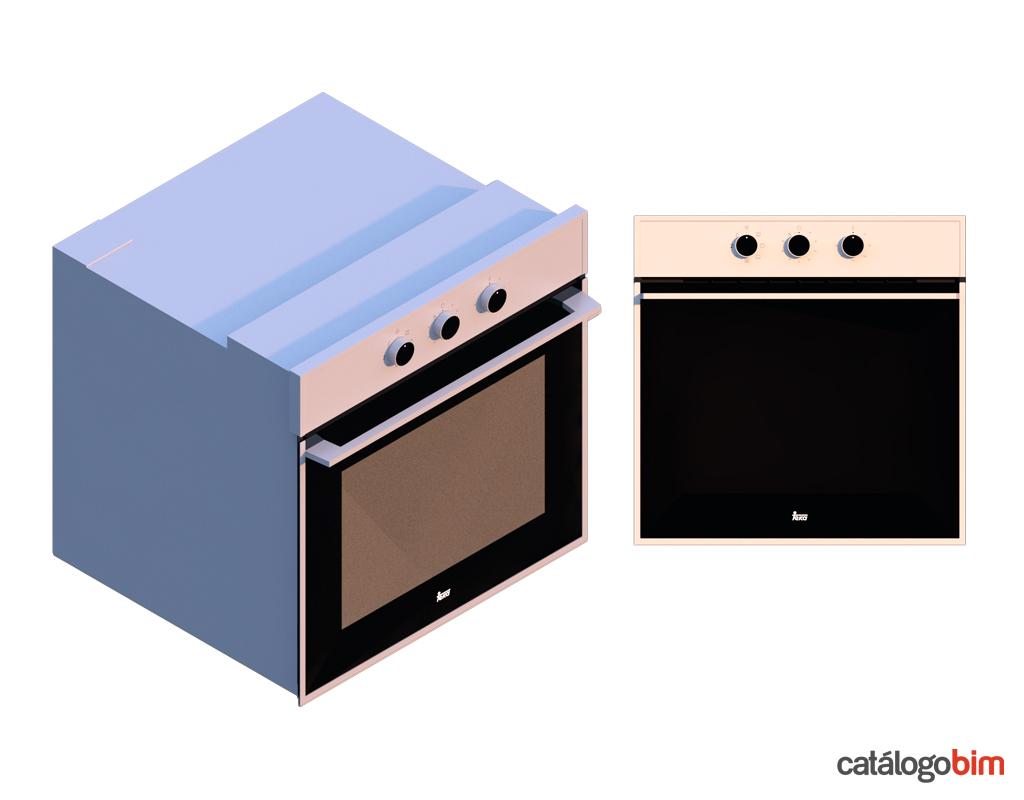 Descarga modelo de Horno eléctrico de Teka Modelo HSB 615 SS en BIM, puedes encontrar en catálogo modelos 3D y familias de hornos de cocina eléctricos Teka. Descarga gratis familias de Hornos de Teka para su uso BIM, descargas en formatos Revit, rfa y rvt, e IFC y librerías de materiales, pronto descargas para ArchiCAD.