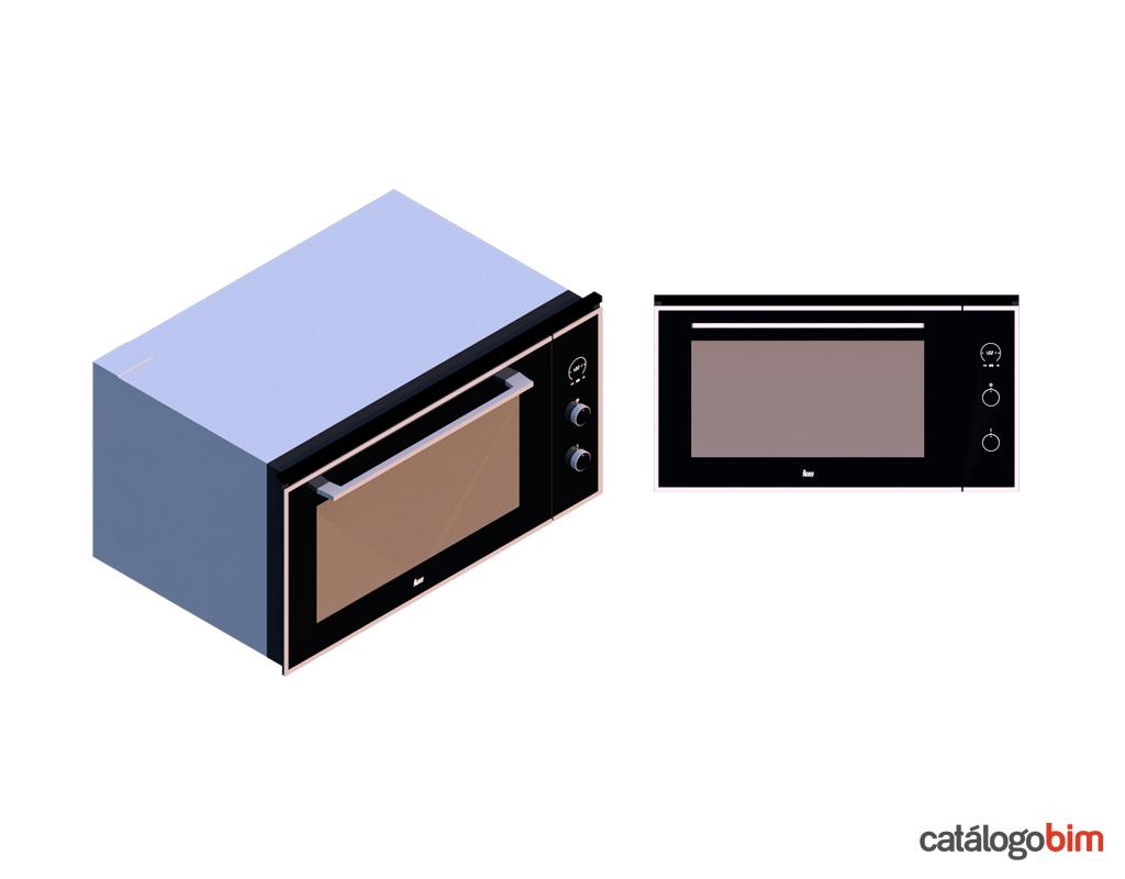 Descarga modelo de Horno eléctrico de Teka Modelo HLF 940 SS en BIM, puedes encontrar en catálogo modelos 3D y familias de hornos de cocina eléctricos Teka. Descarga gratis familias de Hornos de Teka para su uso BIM, descargas en formatos Revit, rfa y rvt, e IFC y librerías de materiales, pronto descargas para ArchiCAD.