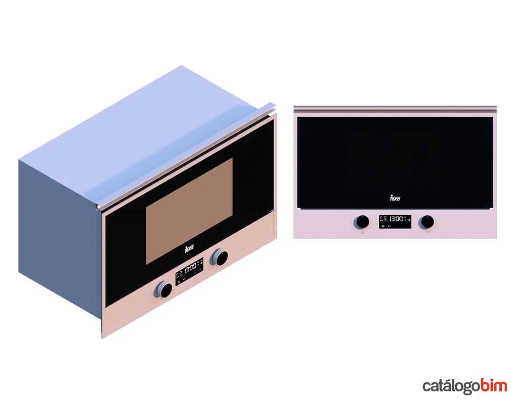 Descarga modelo de microondas empotrable de Teka Modelo MS 622 BIS L en BIM, puedes encontrar modelos 3D y familias de hornos de cocina eléctricos Teka parametrizables, con texturas realistas. Descarga gratis la familia de microondas empotrable de Teka Modelo MS 622 BIS L de Teka para su uso BIM, descargas en formatos Revit, rfa y rvt, e IFC y librerías de materiales, pronto descargas para ArchiCAD.