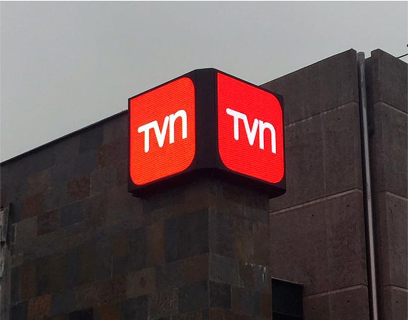 Instalación de Pantalla LED para TVN