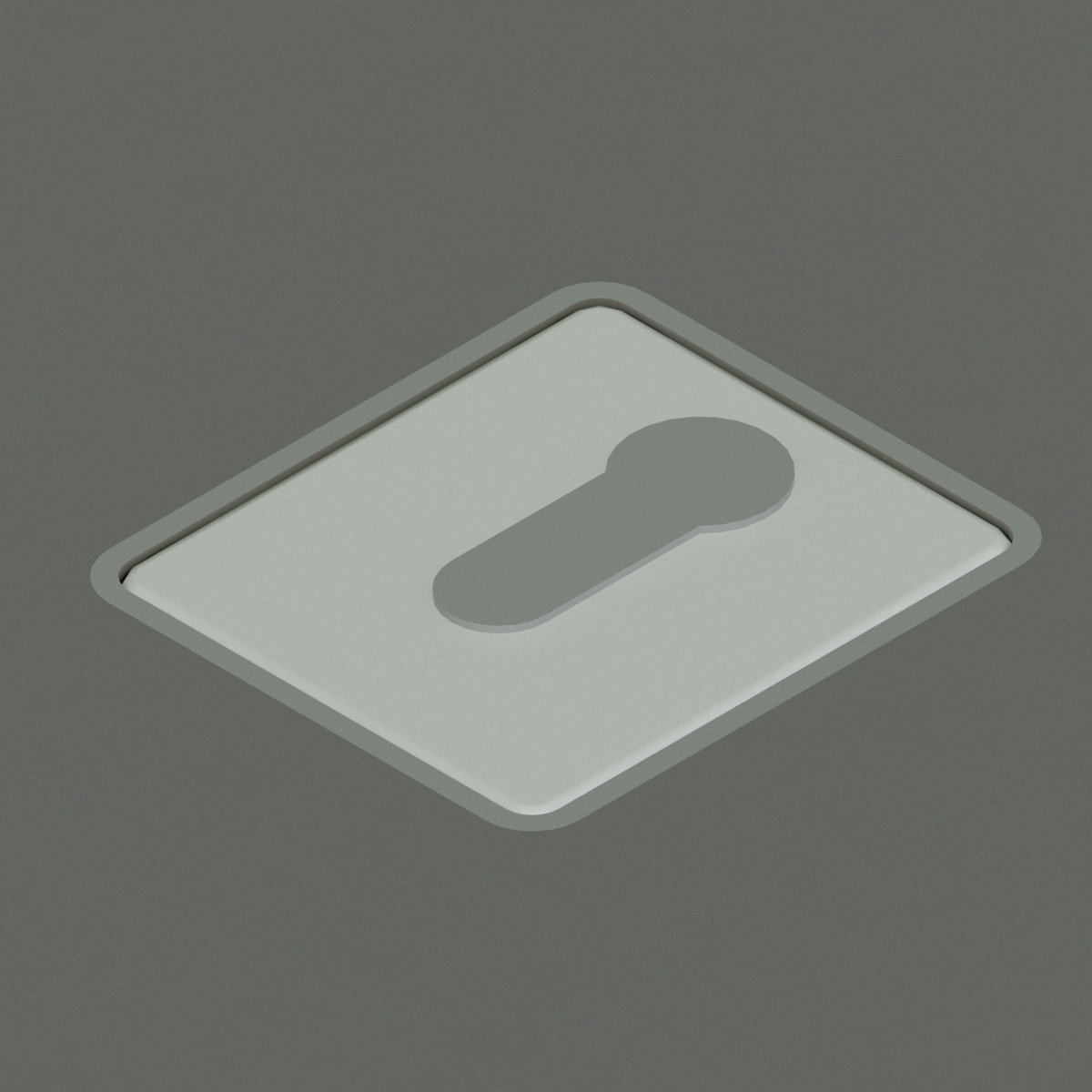Sistema de Apertura de puerta Key Switch_Flush en BIM