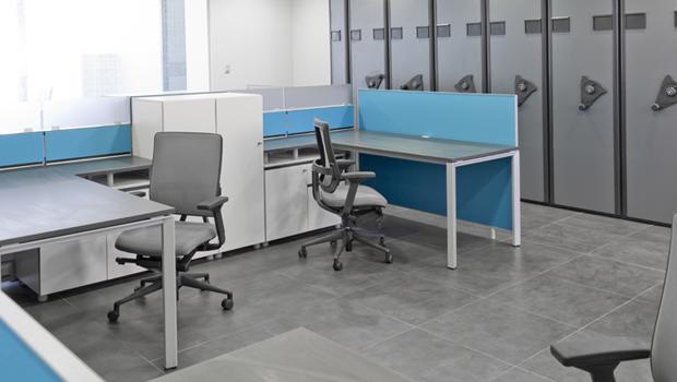 Línea FX-1 en Habilitación de oficinas SIOM Spa