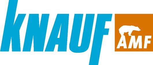 logotipo cielos modulares knauf amf