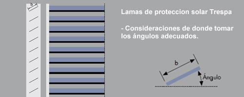 Lamas de Protección Solar