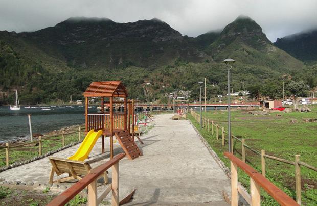 Luminaria Isla proporciona solución económica en Juan Fernández