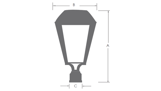 Luminaria MISTRAL