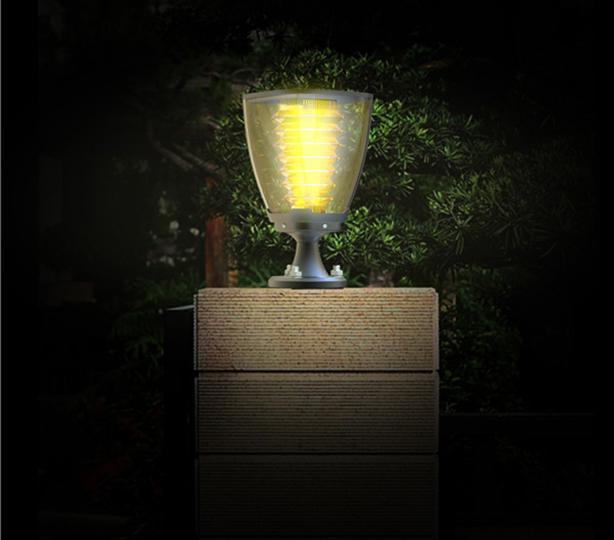 Luminaria Solar de Jardín