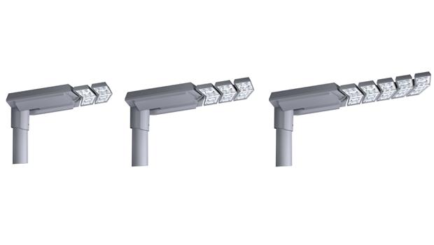 Luminaria V-MAX de Carandini