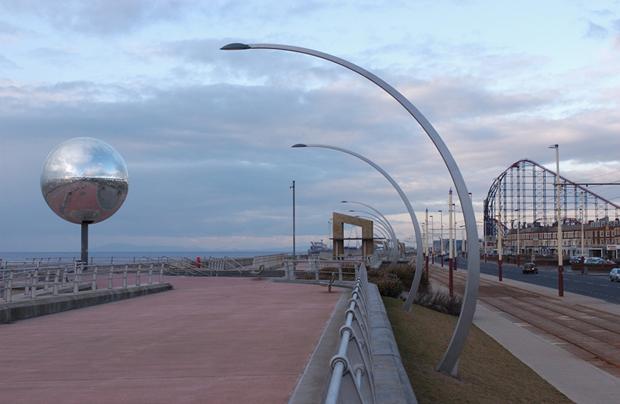 Luminarias para paseos peatonales, plazas y parques