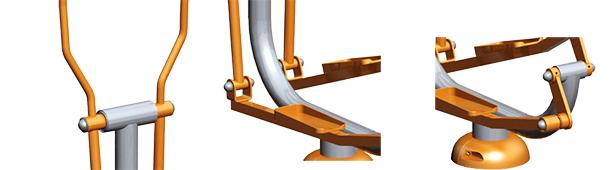 Máquina de Ejercicio Elliptical Crosstrainer