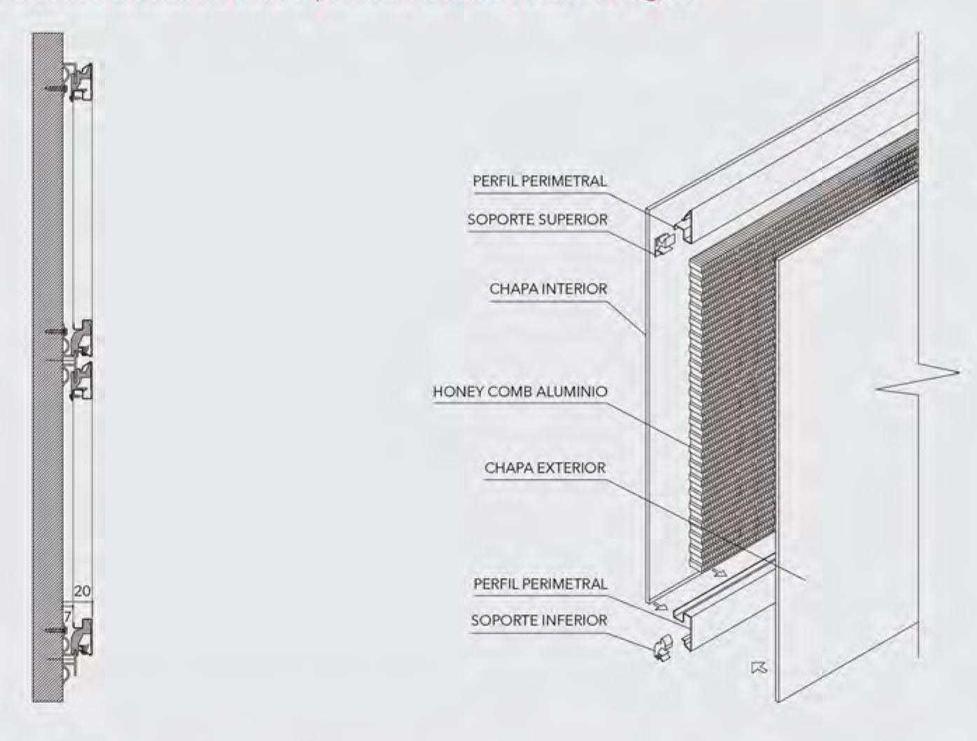 Revestimiento interior Metalwall - Hunter Douglas
