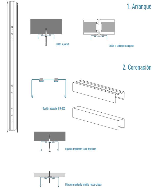 Mamparas de Aluminio