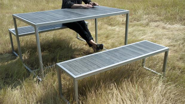 Mesas de terraza Metal