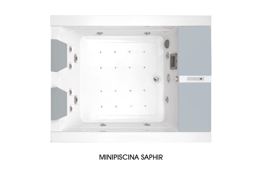 Minipiscina Hidromasaje Saphir  Wasser